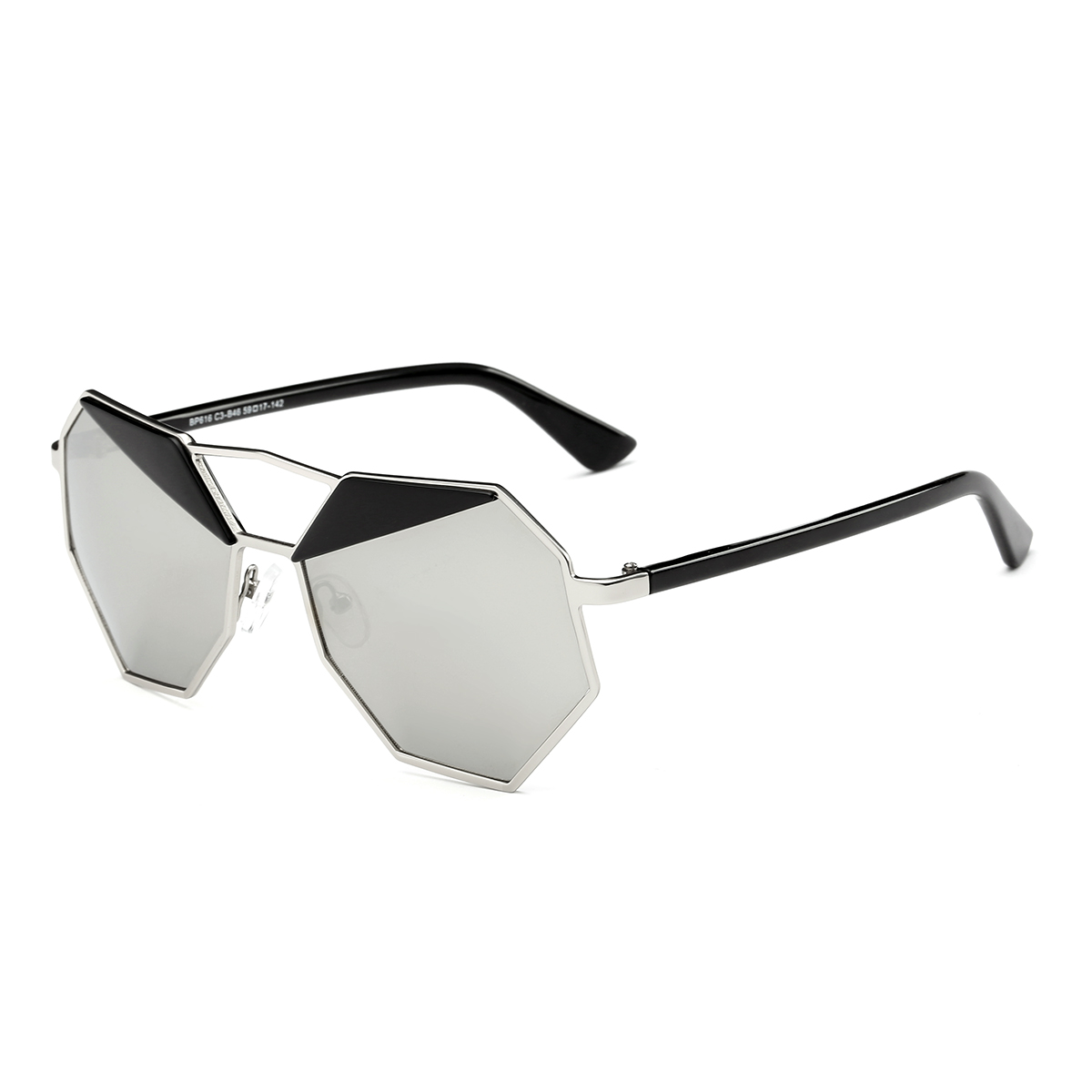 Dasein Trendy Pentagon Sunglasses