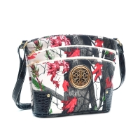 Realtree Three Layer Zippers Messenger Bag