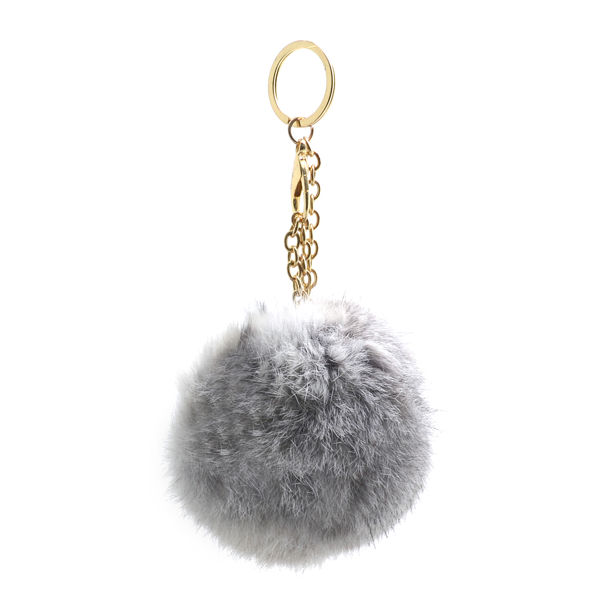 Faux Fur Key Chain
