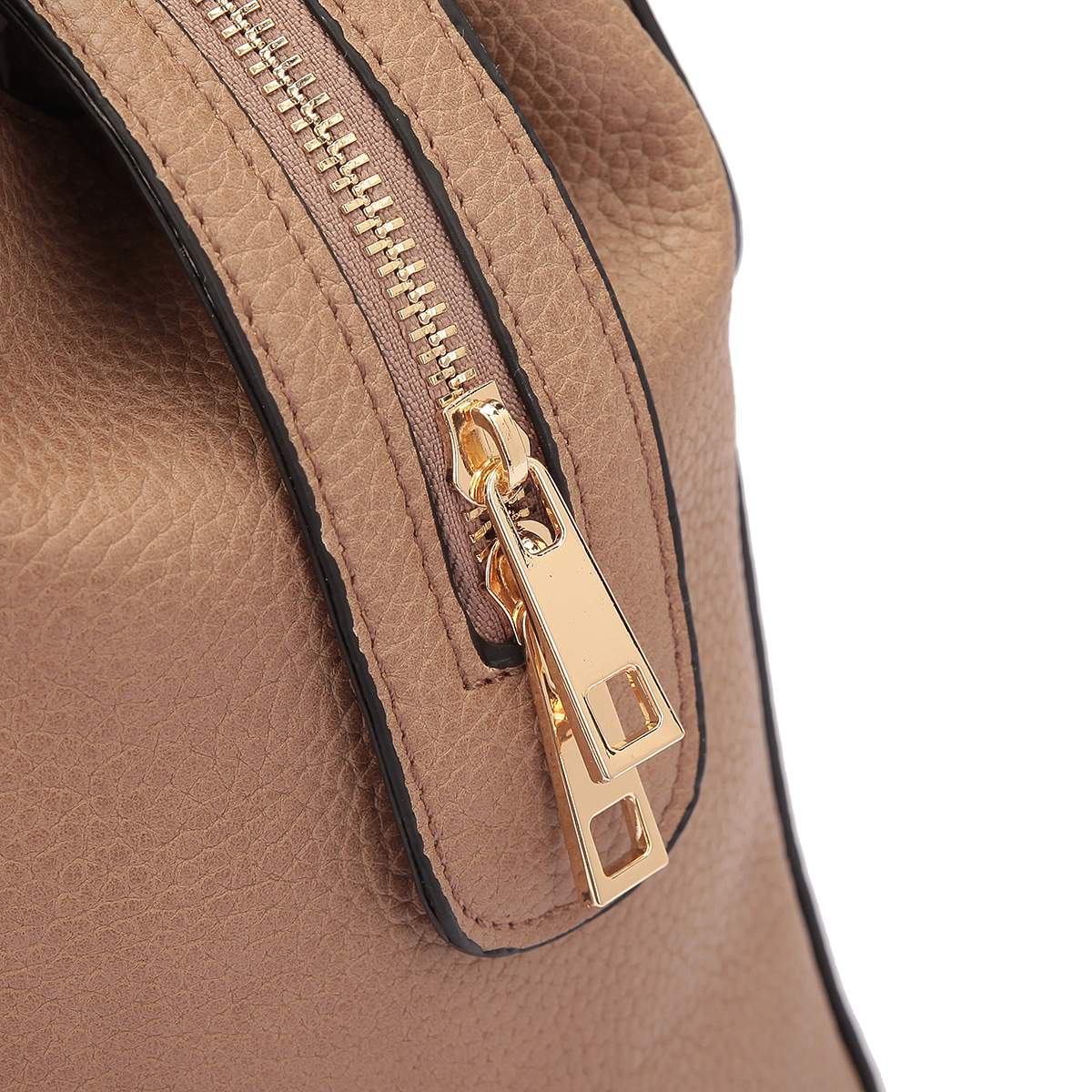 Dasein® Briefcase Satchel with Expandable Side Zipper