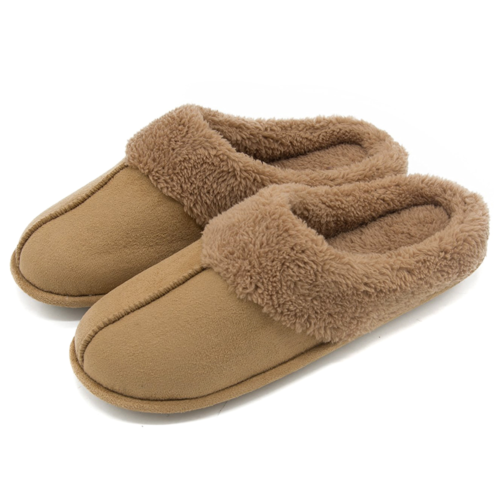 Men's Faux Suede Slippers