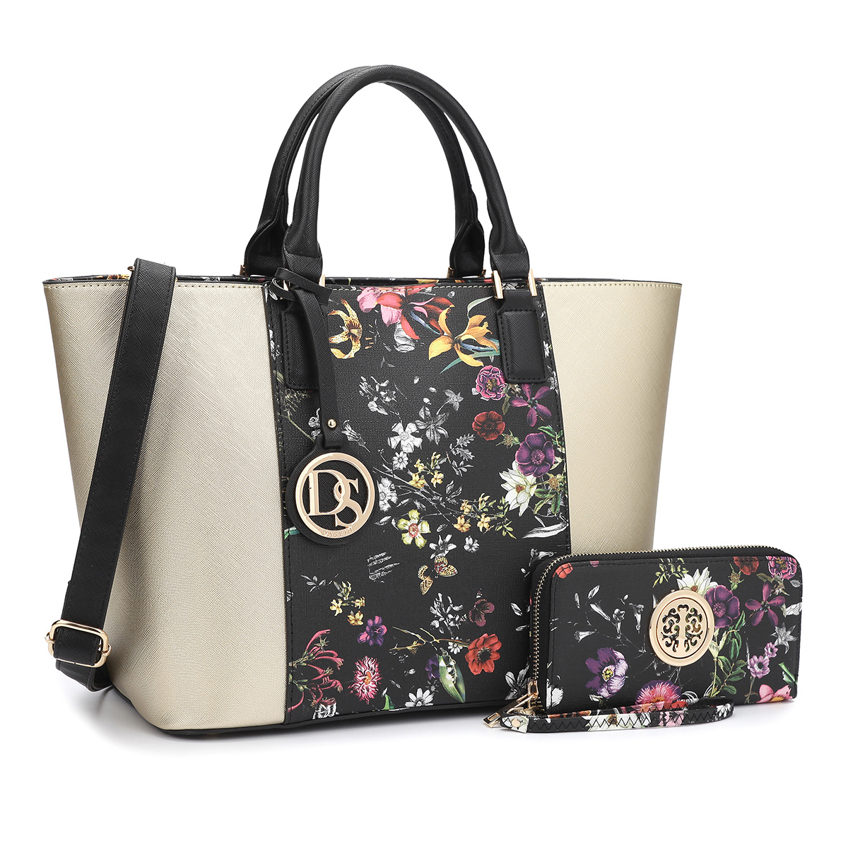® Medium Classic Tote Bag with Matching wallet