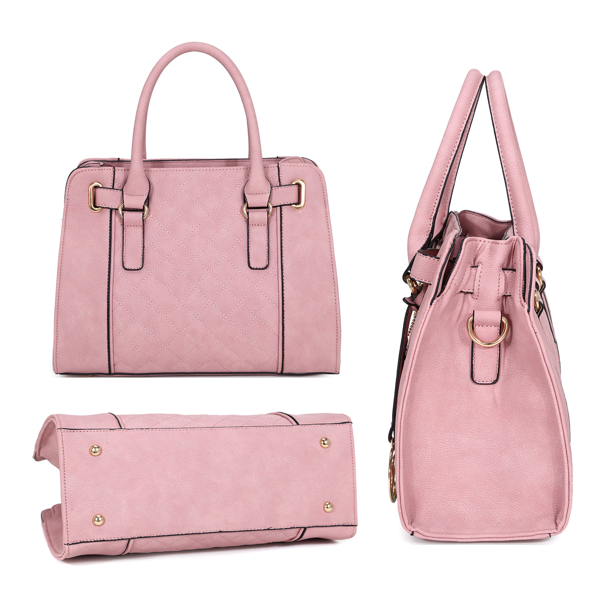 Medium Satchel with Shoulder Strap
