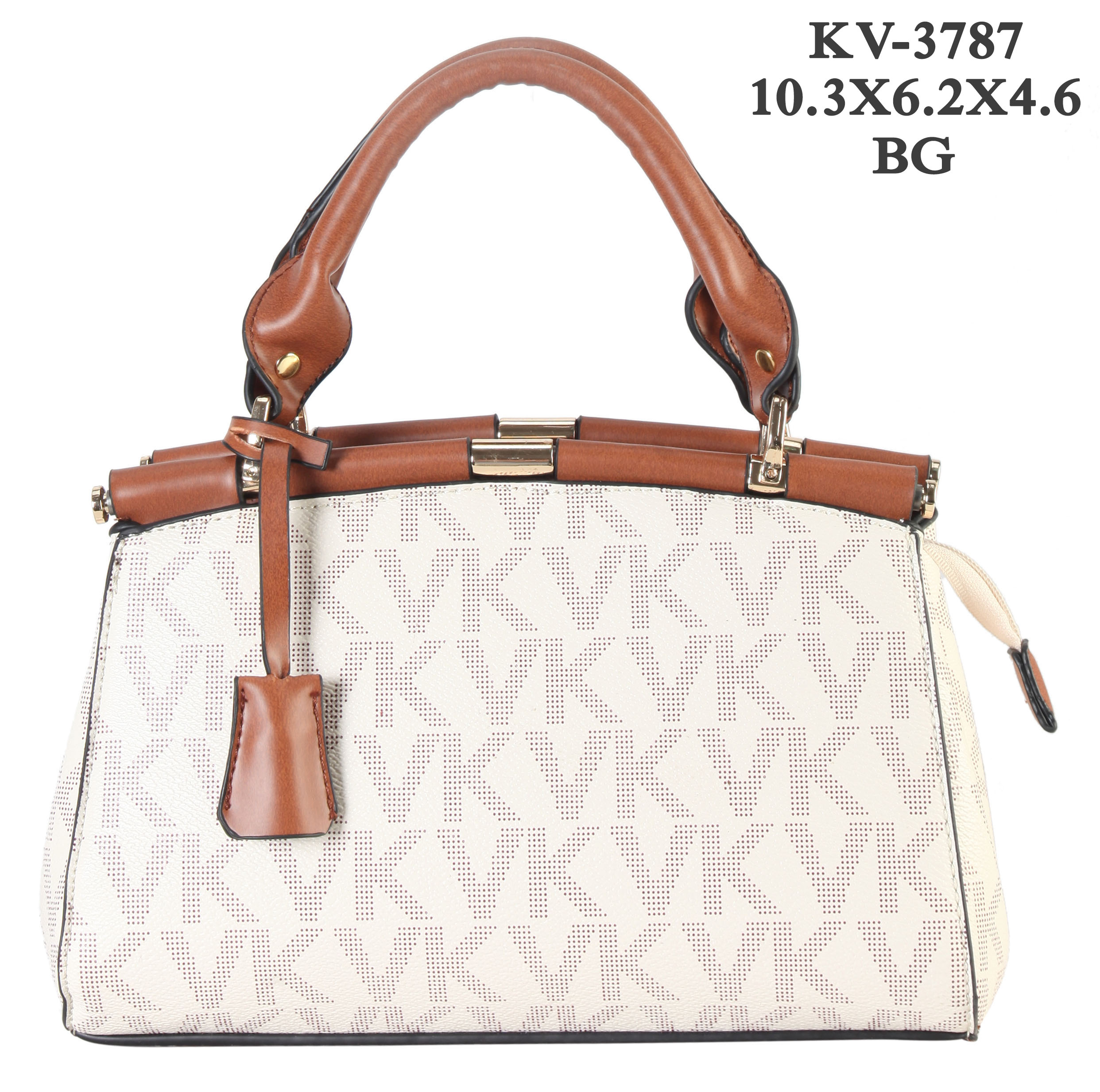 Monogram Logo Mini Satchel/Messenger/Crossbody Bag