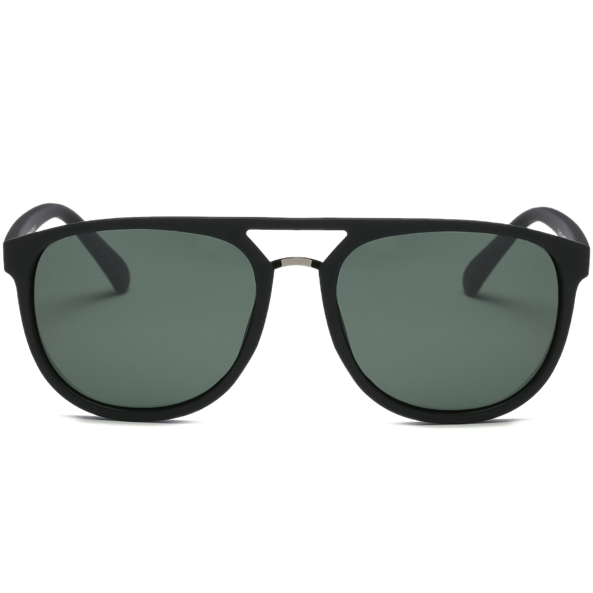 Matte Finish Wayfarer Round Sunglasses
