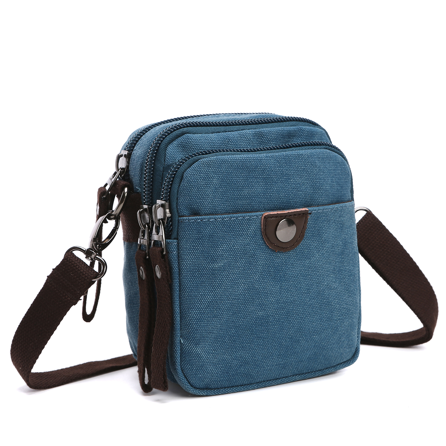 Dasein Vintage Unisex Canvas Messenger Bag/Cross body